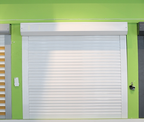 外遮阳卷帘窗